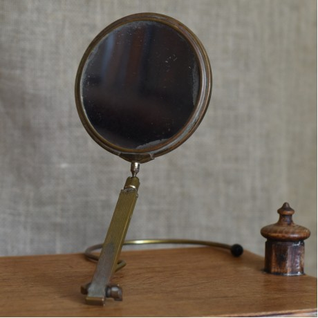 1920s Travel Mirror
