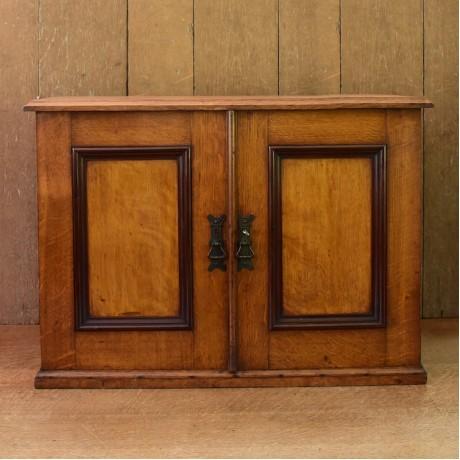 Late 19thC Oak Cabinet