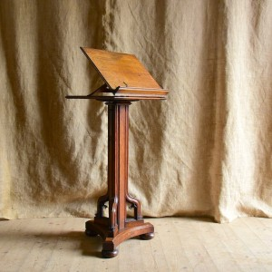 Late 19thC Reading Stand