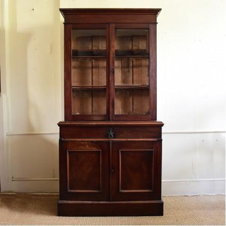 Mid 19thC Mahogany Bookcase