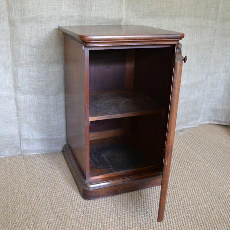 A Mahogany Pedestal Cupboard c.1840