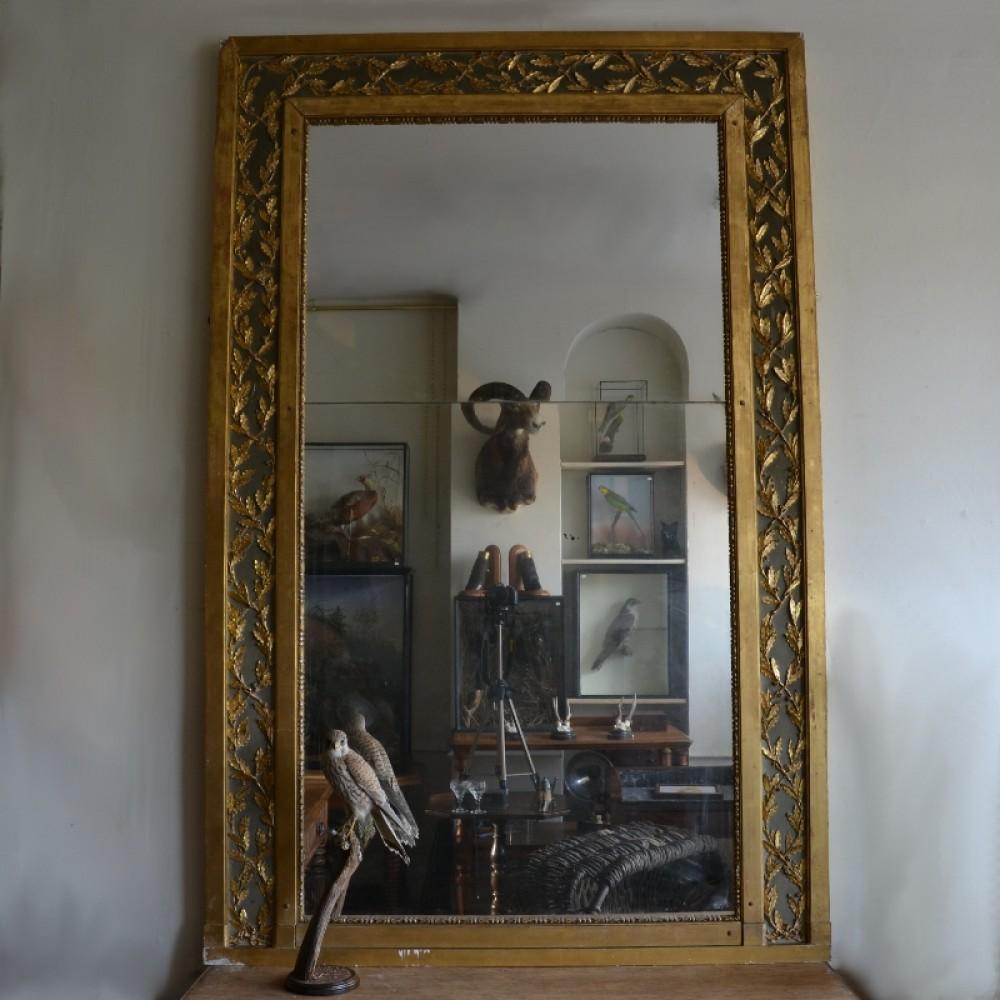 Large Gilt Overmantle Mirror c.1820