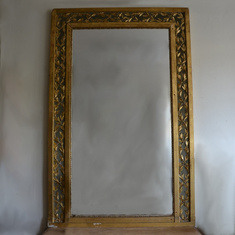 Large gilt overmantle mirror for Overmantle mirror
