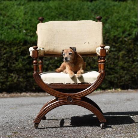 Gothic Oak Chair