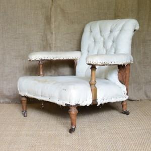 Victorian Open Armchair