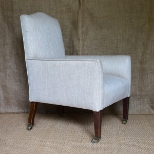 Upholstered Armchair c.1900