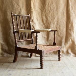 19ThC Bobbin Chair
