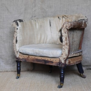 Upholstered Tub Armchair