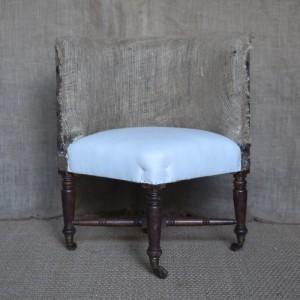 Upholstered Corner Chair