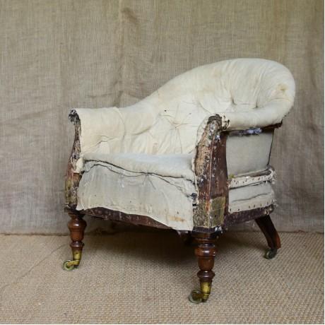 19thC Tub Chair