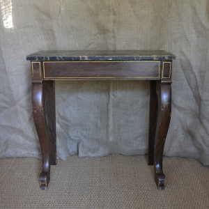 A Painted Regency Console table