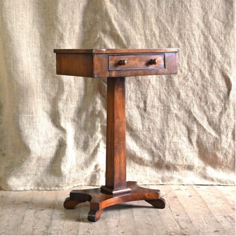 Early 19thC Mahogany Occasional Table
