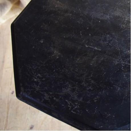 Ebonised Octagonal Table