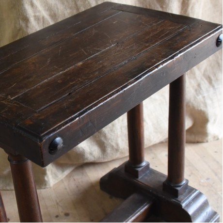 Tall Oak Table