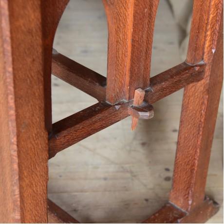 Oak Gothic Table
