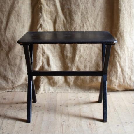 19thC Ebonised Table