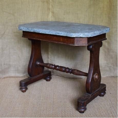 19thC Oak Hall Table.