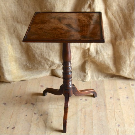 Mahogany and Elm table