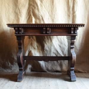 19thC Italian Walnut Table