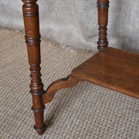 Arts and Crafts Oak Side Table