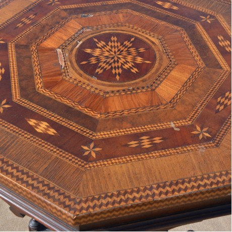 An Octagonal Occasional table