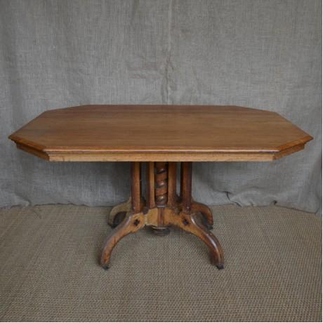 An Oak Centre Table c.1880