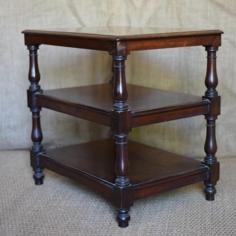 19thC Mahogany Reading Table