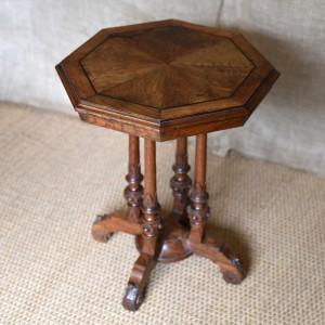 Oak Octagonal Table