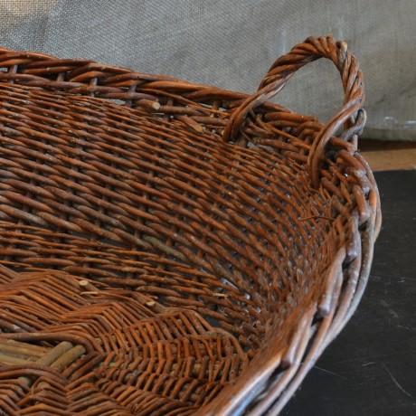 Early 20thC Wicker Basket