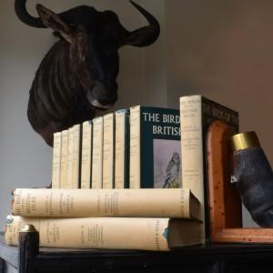 A Set of 12 Volumes: Britsh Birds
