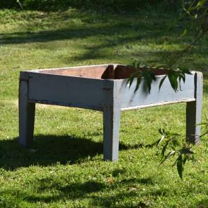 Painted Jardiniere/Potting Table