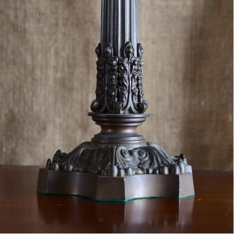 A Bronze Lampbase